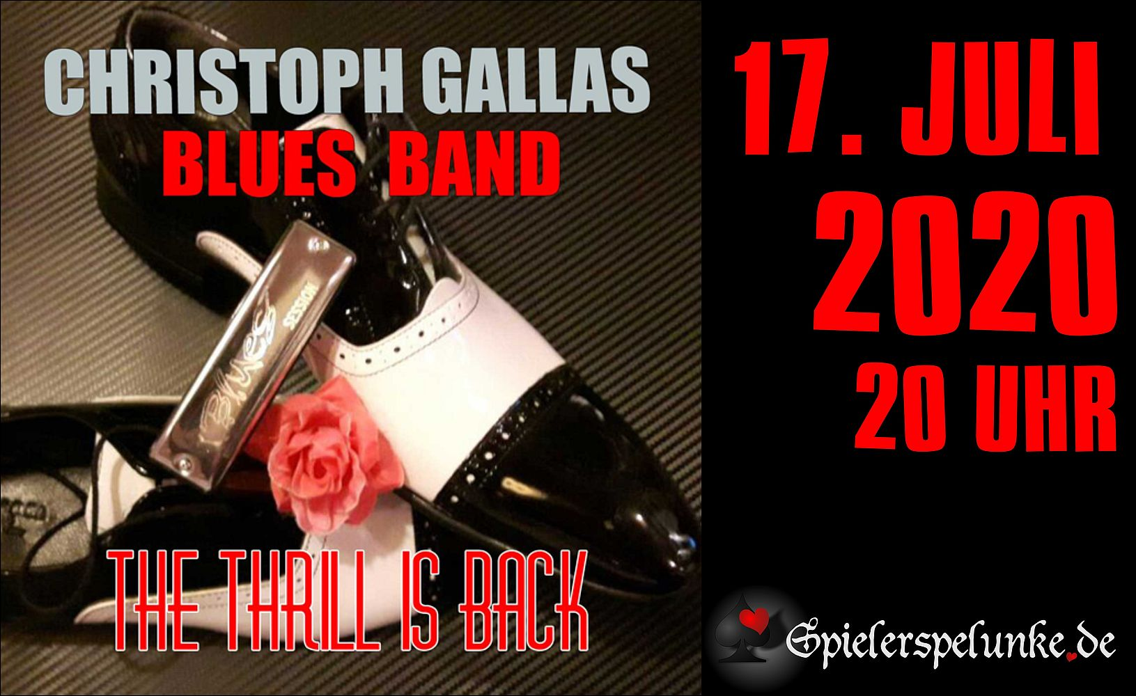 spielerspelunke livemusik christoph gallas blues band