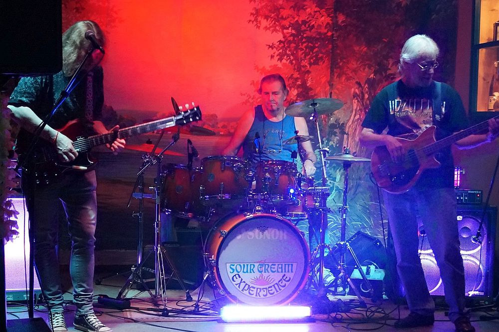 "Die Band ""Sour Cream Experience"" zur Woodstock Party"