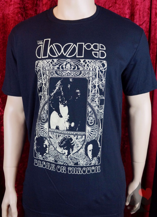 "The Doors ""Break On Through"" T-Shirt schwarz Merchandise"