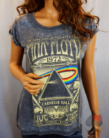 Pink Floyd Dark Side Of The Moon Tour Ladies T-Shirt Merchandise
