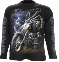 "Langarm Shirt ""Ride to hell"" Longsleeve"