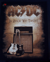 backpatch rückenaufnäher ac/dc in rock we trust