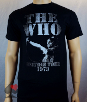 The Who British Tour 1973 T-Shirt Merchandise
